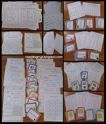 Exemples d'ateliers mathématiques.