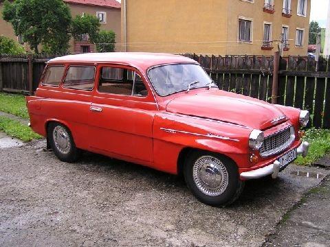 Skoda Octavia1959
