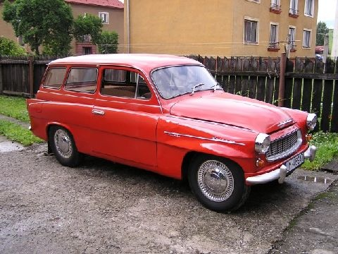 Skoda Octavia Combi 1959 #SKODA #SkodaStory