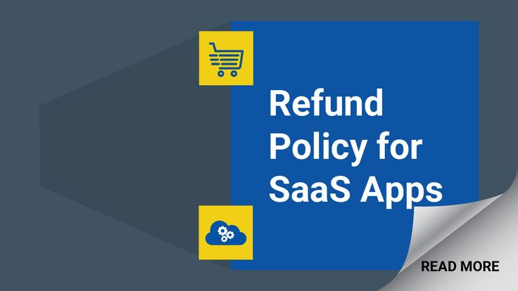 Having a Refund Policy in place with your SaaS app will