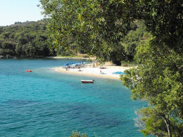 Paraskevi Beach, just north of Parga, Greece