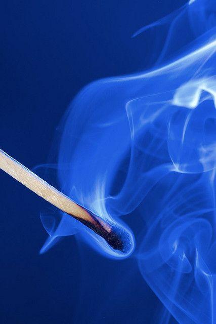 Blue smoke by www.fotoARION.ch, via Flickr