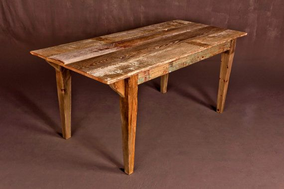 Reclaimed Barn Wood Dining Table 34 Quot Wide X 70 25 Quot Long X 30