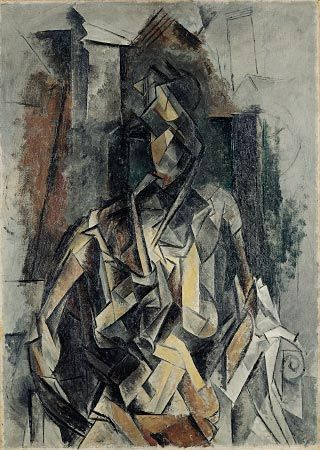 Picasso - cubism - I find Picassos cubism very beautiful. I would find I hard to achieve something like this digitally.