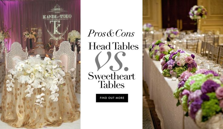 Sweetheart Table Vs Head Table For Wedding Reception: Best 25+ Head Tables Ideas On Pinterest