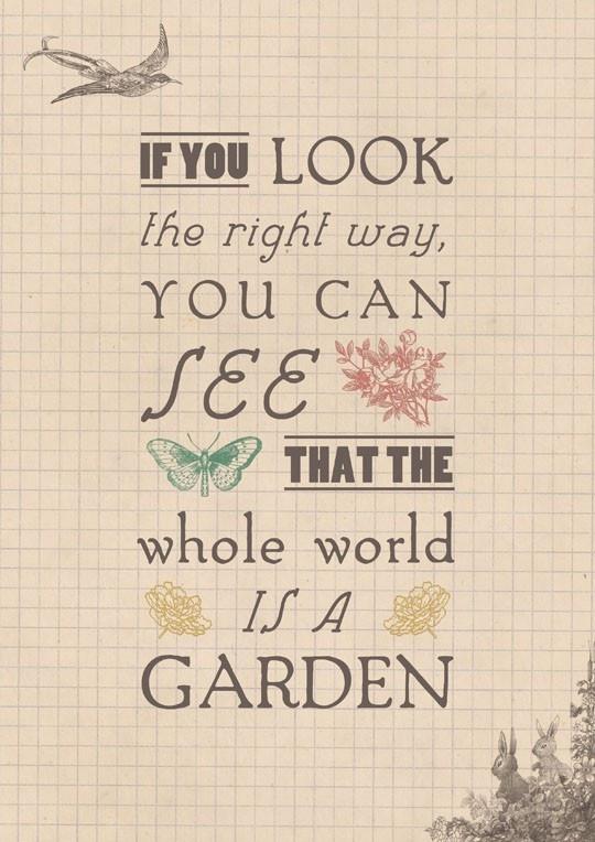 The Secret Garden.: The Secret Gardens Quotes, Inspiration, Gardens Signs, Gardening Quotes, Book, Garden Quotes, France Hodgson Burnett, Gardens Design, Secretgarden