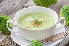 Brokolicová krémová polievka