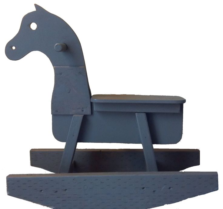 Wooden Rocking Horse Plans. could be fun for outside.