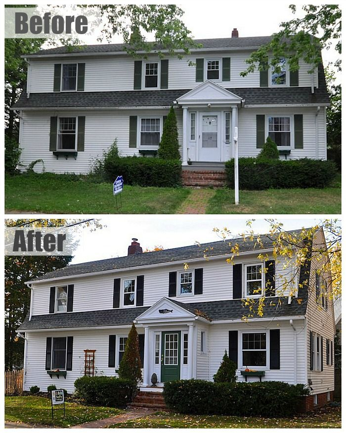 60 best images about before after on pinterest old for Before after exterior 1930