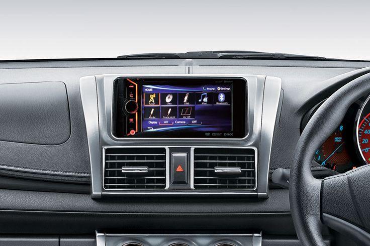 Toyota All New Yaris Type E Interior 5