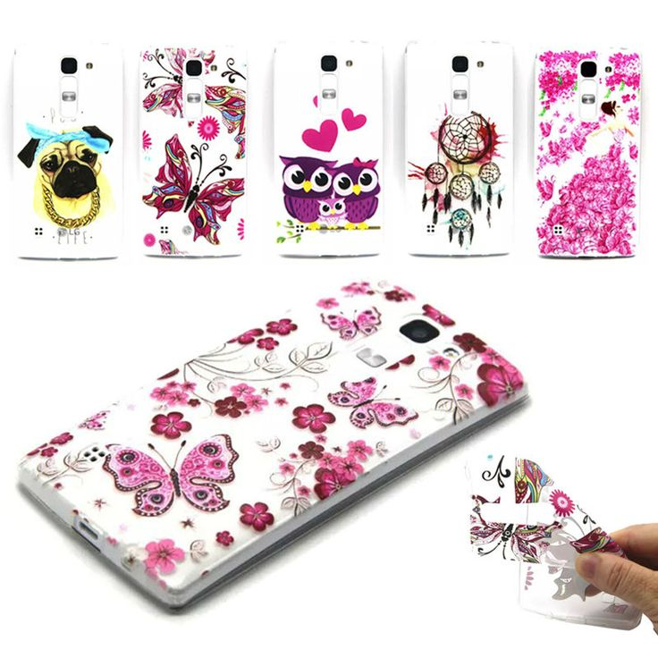 0.3mm Ultra Thin Soft Silicon Case for LG Spirit 4G LTE H420 H422 H440N Colors Print Butterfly Flowers Pattern Clear Cases Cover #>=#>=#>=#>=#> Click on the pin to check out discount price, color, size, shipping, etc. Save and like it!