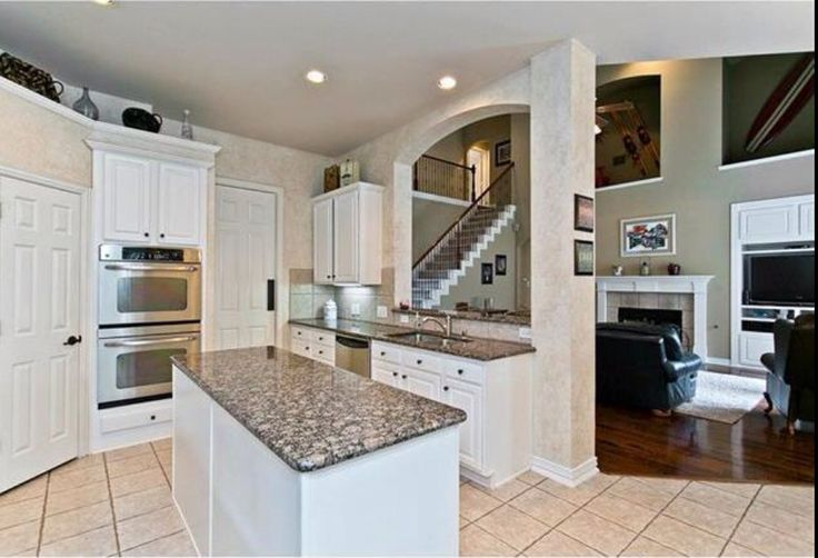 Best White Cabinets Baltic Brown Granite Kitchen Pinterest 400 x 300