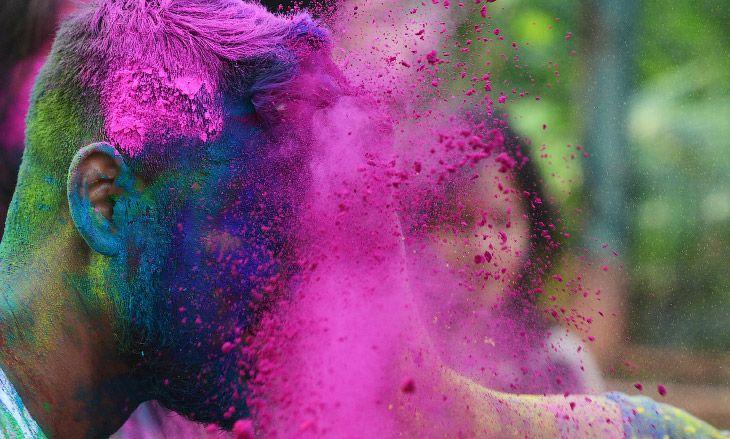 Фестиваль красок в Индии - праздник Холи