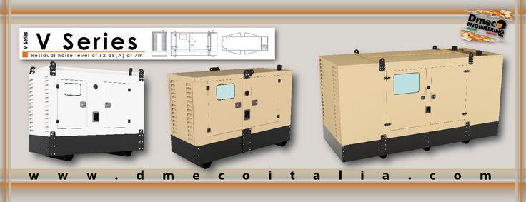 Dmeco Engineering // V Series // www.dmecoitalia.com // #dmeco #dmecoengineering #engineering #soundproofing #container #canopy #generator #genset #rental #products #italiandesign #italianconcept #italianproducts #madeinitaly #InTheWorld