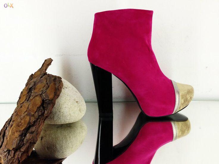 Botas nova colecção jeffrey pinkstyle camurça