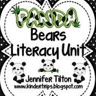 $ This packet can be used with literature books or informational texts about Panda Bears. The activities align with the Common Core standards. The bo...