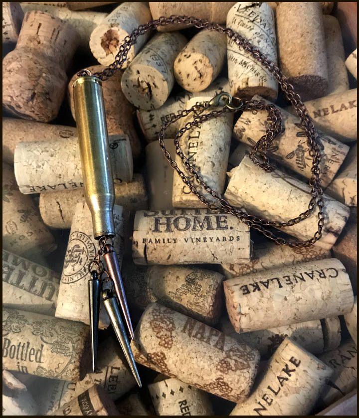 270 Winchester Spike by BrassyGinger on Etsy