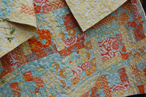 Olivia's Quilt PDF PaTTERN - Baby Quilt - Lap Quilt - Jelly Roll Charm Squares Layer Cake - PDF on Etsy, $6.00
