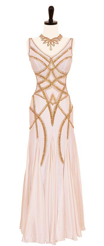 white with gold modern dress bodice design