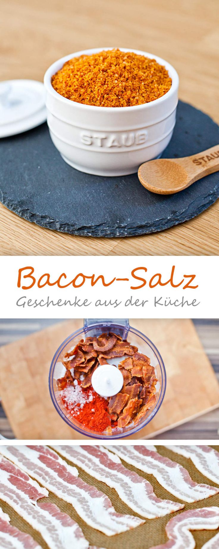 Bacon-Salz grundrezept