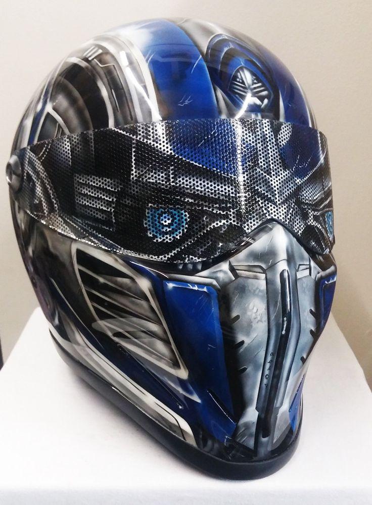 Prime Character Design Bandit Crystal Helmet Stig Style