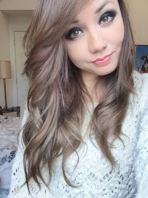 1000  ideas about Ash Brown Hair on Pinterest  Ash brown hair, Ash balayage and Ashy brown hair