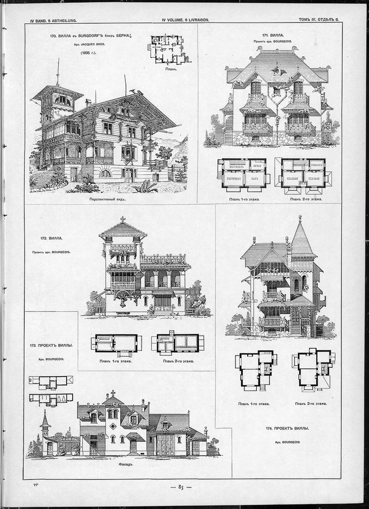Architecture Houses Drawings 875 best houses and plans images on pinterest | house floor plans