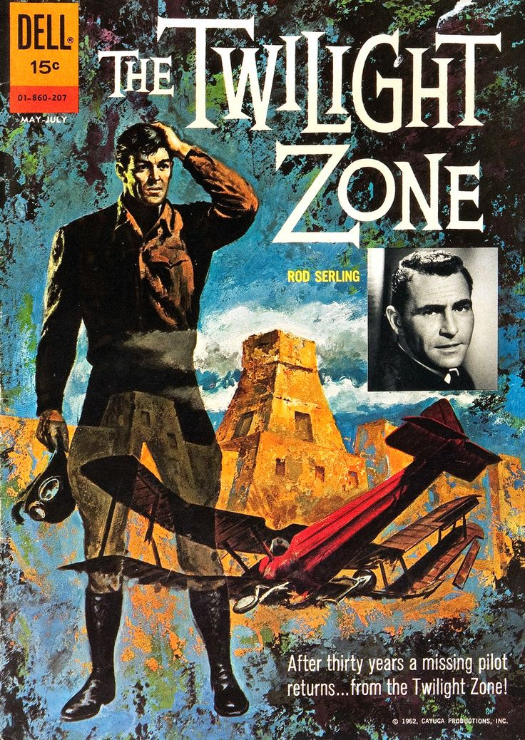 The Twilight Zone (1959–1964, CBS) — 1962 comic book