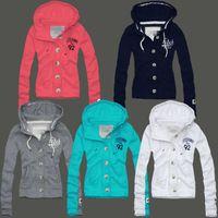 Free shipping Hot sale 2013 new women cardigan Hooded sweater Casual jacket Sport hoodies Women sweater