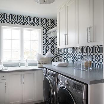 best 25+ laundry room wallpaper ideas on pinterest | laundry decor