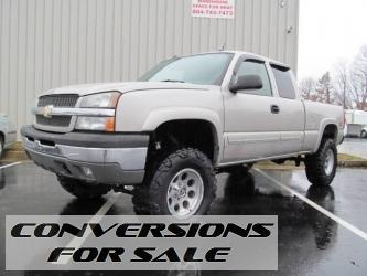 2005 Chevrolet Silverado 1500 LS Lifted Truck