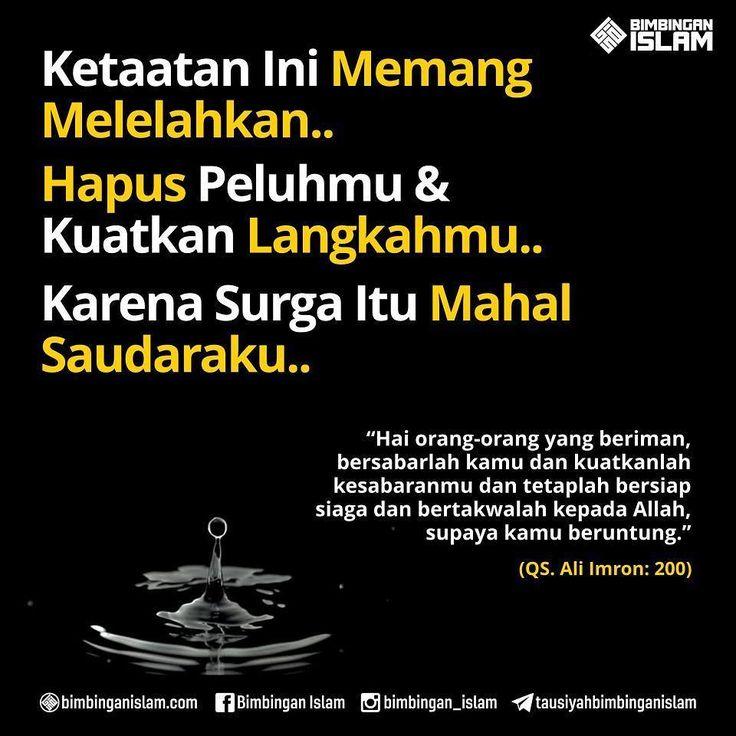 http://nasihatsahabat.com #nasihatsahabat #mutiarasunnah #motivasiIslami #petuahulama #hadist #hadits #nasihatulama #fatwaulama #akhlak #akhlaq #sunnah #aqidah #akidah #salafiyah #Muslimah #adabIslami #DakwahSalaf # #ManhajSalaf #Alhaq #Kajiansalaf #dakwahsunnah #Islam #ahlussunnah #sunnah #tauhid #dakwahtauhid #alquran #kajiansunnah #Taat #ketaatan #melelahkan #sabar #bersabarlah #Kuatkanlangkah #Surgaitumahal