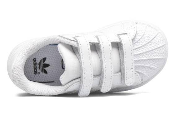 Baskets SUPERSTAR FOUNDATION CF I Adidas Originals vue haut