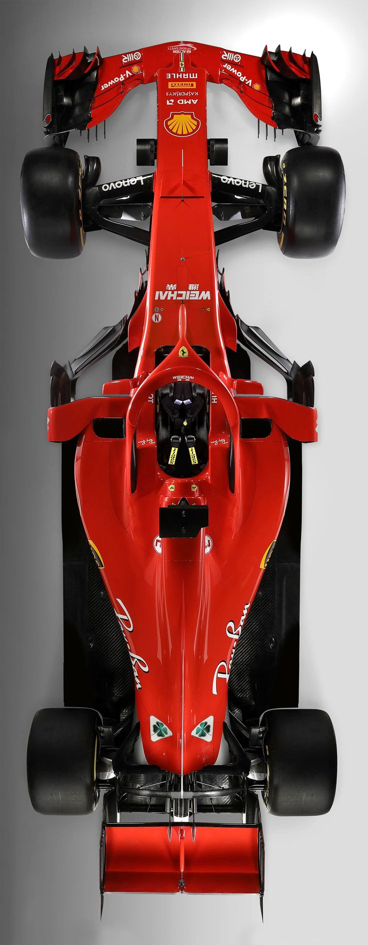 2018/2/22:Twitter: ‪@ScuderiaFerrari‬ : Here is the new car.