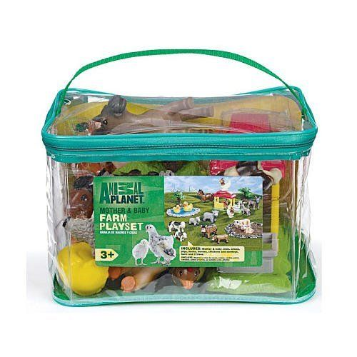 Best Animal Planet Toys For Kids And Toddlers : Animal planet mother baby farm playset set