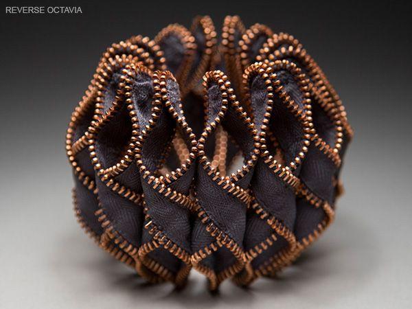 Kate Cusack | Zipper Jewelry: Bracelets