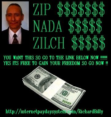 WHY ARE YOU WORKING ON MAKING SOMEONE ELSE FINANCIALLY FREE ? .htmlhttp://internetpaydaysystem.com/RichardBilly