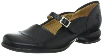 John Fluevog Women's Sandra Flat,Black,6.5 M US John Fluevog. $269.00. leather. Rubber sole. Made in Portugal