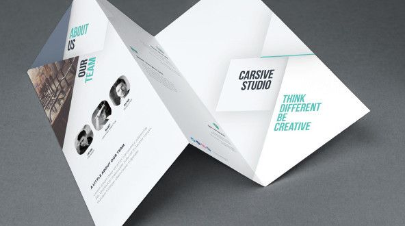 Free Brochure Templates Psd Ai Eps Download  Design