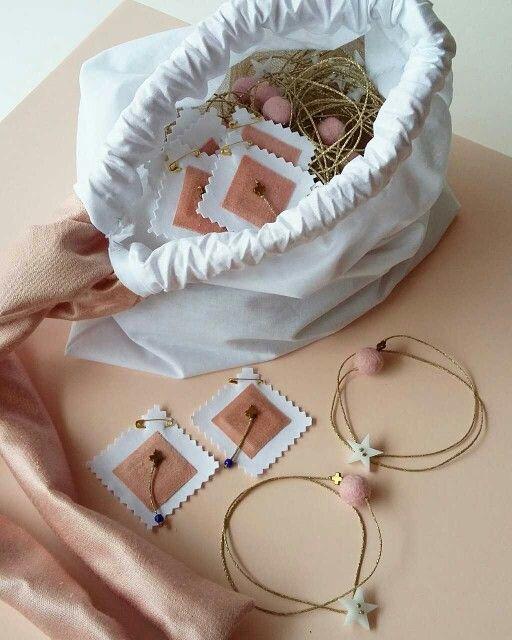 #christening #byL_L #calliopil_l#handmade #baby#girl#pink #star#gold#leather#colors