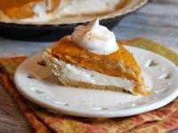 No Bake Double Layer Pumpkin Pie