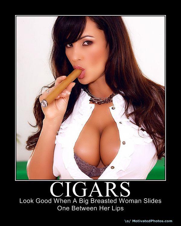 Fetish big breats smoking thumbs