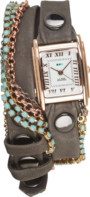 La Mer!!! Love this wrap watch. See more at Swell. http://www.swell.com/Womens-Watches?pg=100==LA-MER-WATCHES==