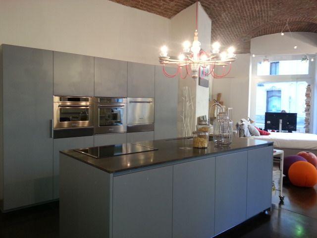 Rossana cucine HD 23 | Grigio Etna Opaco | Pietra Gray