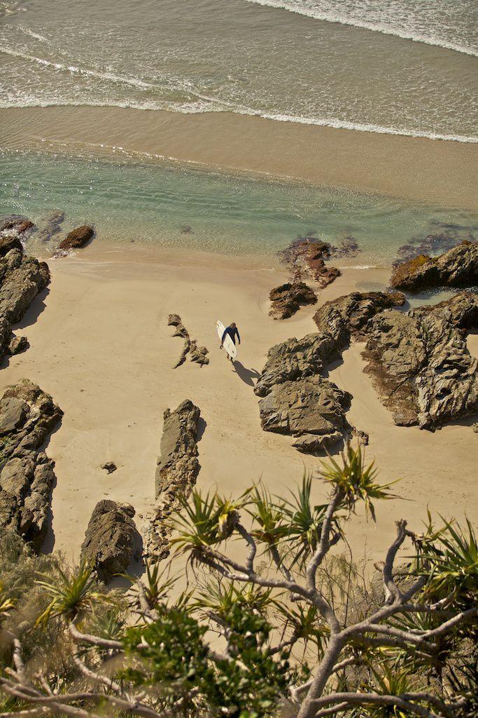 Broken head Byron Bay NSW Australia