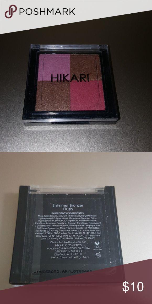 💟💥 = 5 for $30 Hikari shimmer bronzer flush Hikari shimmer bronzer Flush New and sealed Hikari Makeup Bronzer