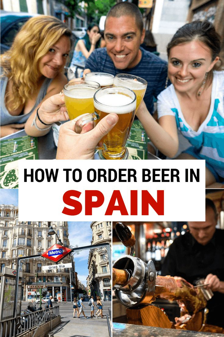 Living in Madrid for the past month, I've learned there's an interesting beer culture here. So in honor of International Beer Day, I wanted to teach you how to order beer in Spain.