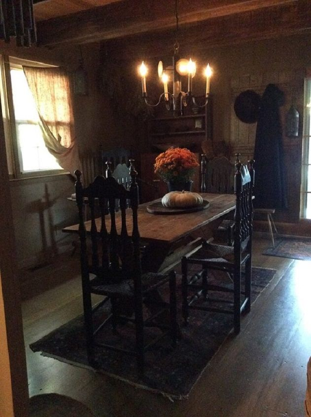 Primitive Dining RoomsPrimitive KitchenPrimitive DecorKeeping RoomFarm ...