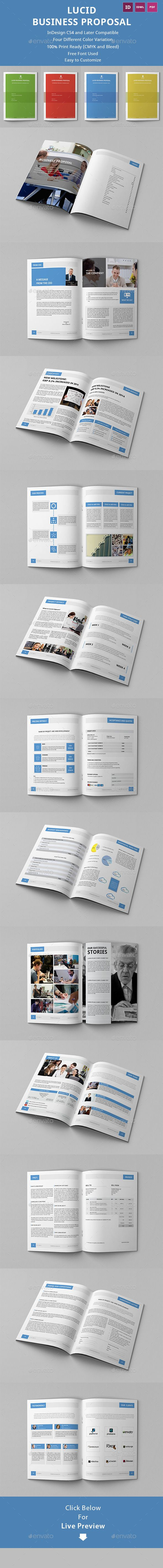 Lucid Business Proposal Template | Download: http://graphicriver.net/item/lucid-business-proposal-template/10197560?ref=ksioks