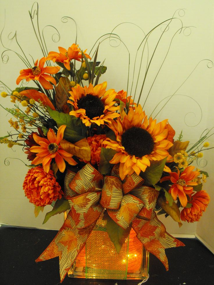 136 Best Halloween Floral Arrangements Images On Pinterest